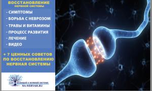 Как восстановить нервную систему? + 7 ценных советов