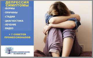 Депрессия симптомы +7 советов профессионалов