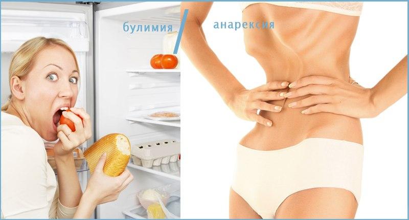Процесс развития булимии